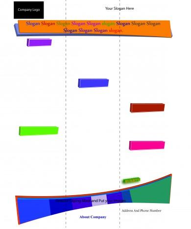 A4 Size Leaflet Design