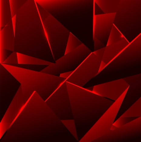 abstract background dark red 3d geometric decor