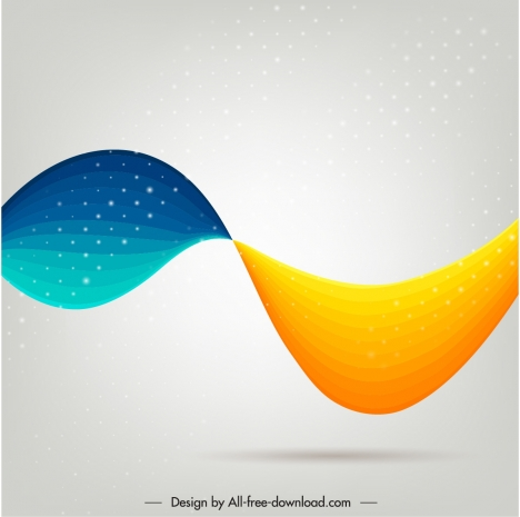 abstract background modern dynamic colorful deformed curves shapes