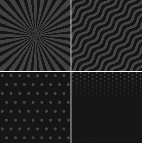 abstract background sets black delusion design