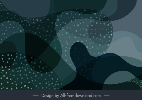 abstract background template blurred deformed curved shapes