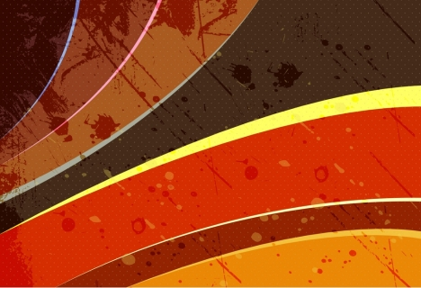 abstract background template grungy curves decoration