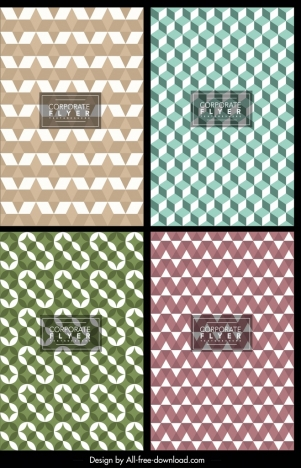 abstract background templates seamless geometric ornament