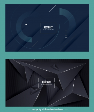 abstract backgrounds elegant dark contemporary design