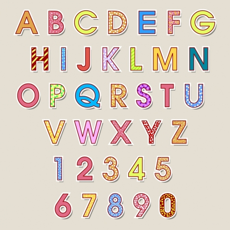 letters in design