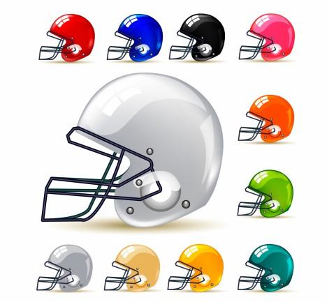 American football / gridiron helmets