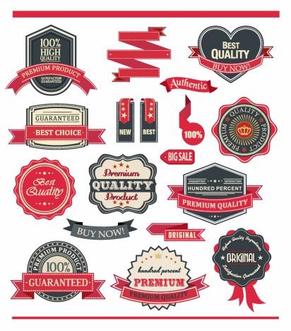 Badge and Ribbon Set