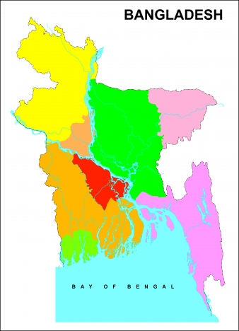 bangladesh map vector file