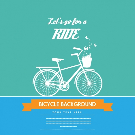 bicycle background white silhouette decoration