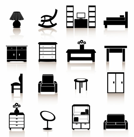 Black Symbols - Furniture