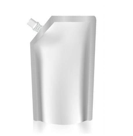 Blank bag foil spout pouch