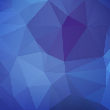 blue 3d geometric abstract background
