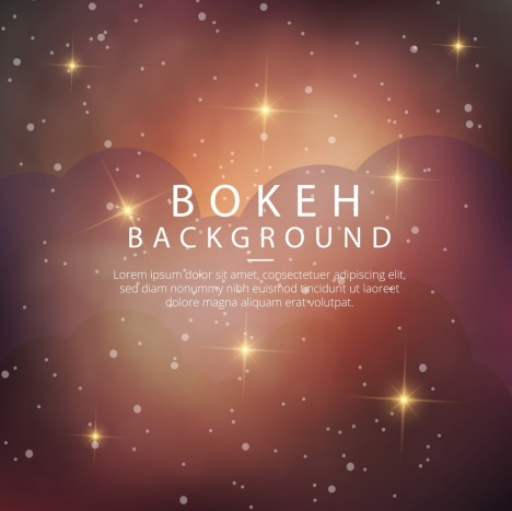 bokeh background sparkling brown design