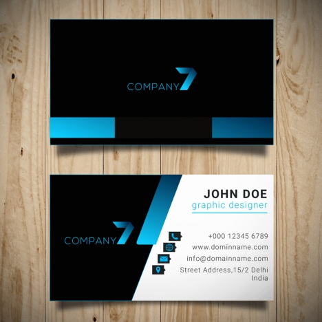 Business card design vectors stock in adobe illustrator ai business card design vectors stock reheart Image collections