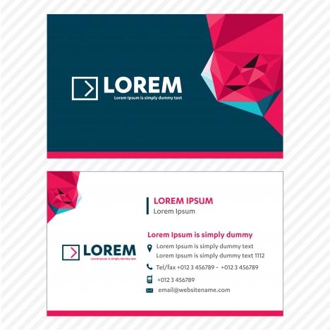 Business card vector template tech logo link network visiting card business card vector template tech logo link network visiting card corporate identity vectors stock reheart Images