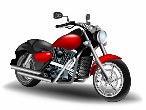cartoon motorbike vectors stock in format for free
