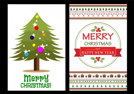christmas background design fir tree and classical style