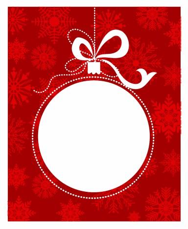 Christmas ball frame