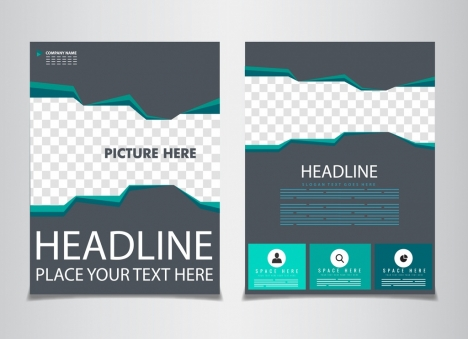 Flyer Green Design Templates Vectors Stock For Free Download About