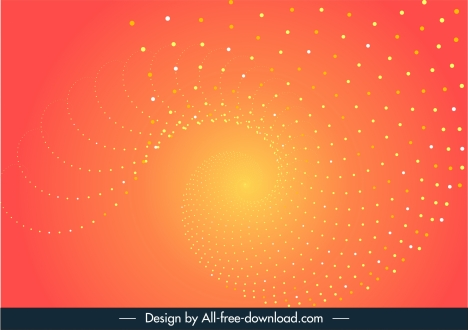 decorative abstract background dynamic twisted spots modern design