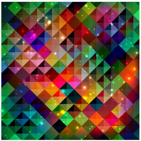 diamond colorful geometric abstract background