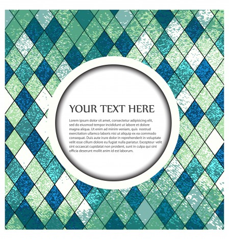 diamond shape grid background with copy space