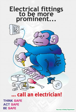 Electrical Fittings awareness Poster