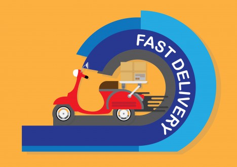 fast delivery design concept