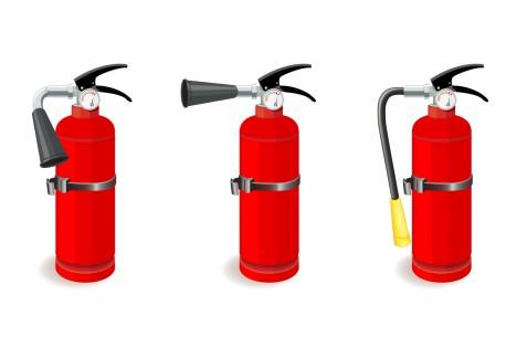 Fire extinguisher vector art