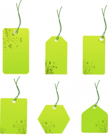 Floral price tags