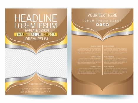 modern flyer template with squares on grey background vectors stock