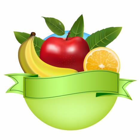 Fresh fruit banner