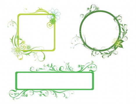 Fresh Green Borders