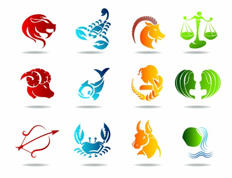 Glowing zodiacs