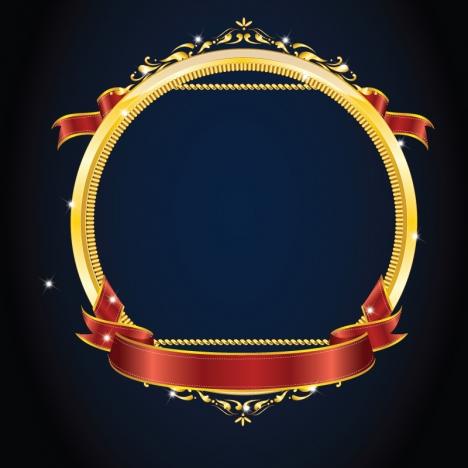 Gold frame vectors stock in Adobe Illustrator ai (  ai
