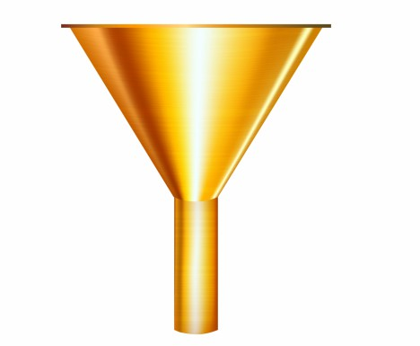 gold funnel