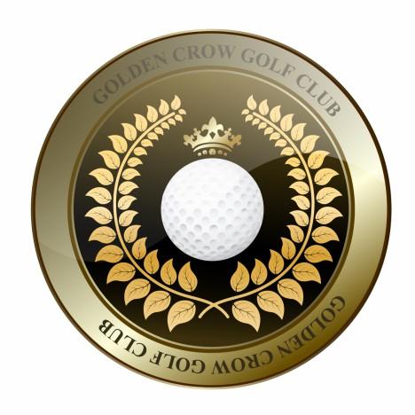Golden Crown Golf Club Shield