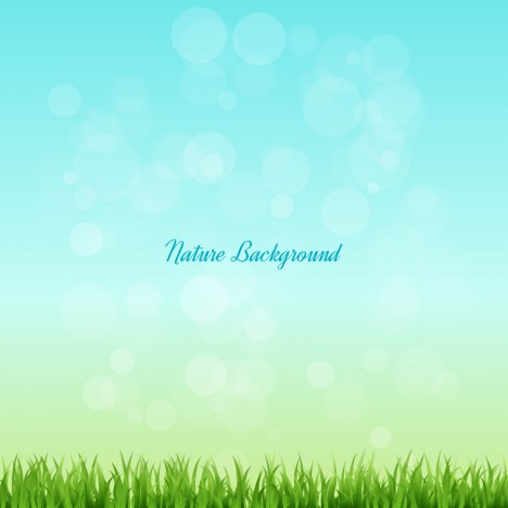 grass and sky nature background