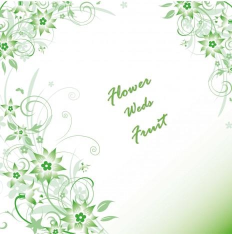 Greeny Flower Background