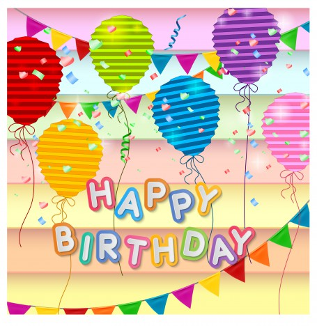 Happy birthday card design template vectors stock in format for free happy birthday card design template bookmarktalkfo Choice Image