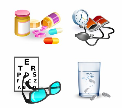 Healthcare and Medicine Design Elements