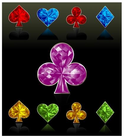 hearts spade clubs diamond