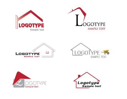House / Home Logos vectors stock in format for free download 1.29MB