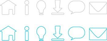 Icon Sets for Website Design