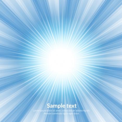light burst blue abstract background