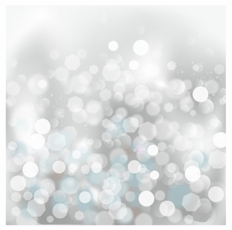 lights silver abstract Christmas background