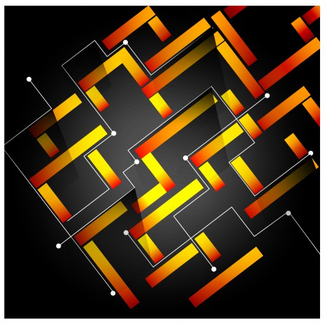 maze abstract background