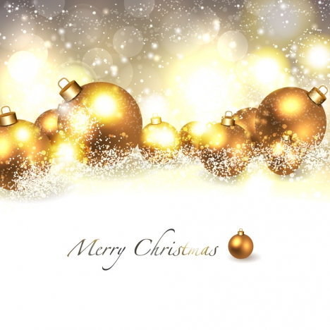 Christmas Background Images Gold.Merry Christmas Background With Golden Ball Vectors Stock In