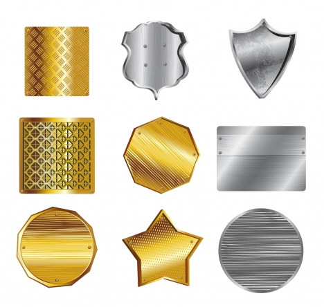 metal shield collection