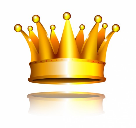 Object crown vector art